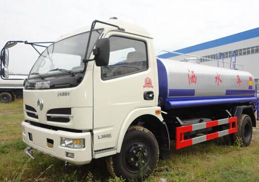 厦工楚胜东风福瑞卡6.6吨洒水车图片