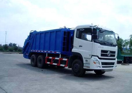 三民重工QZZ-4汽车液压自装式垃圾车图片