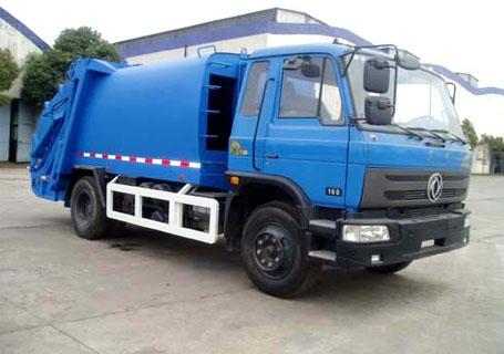 三民重工QZZ-8汽车液压自装式垃圾车图片