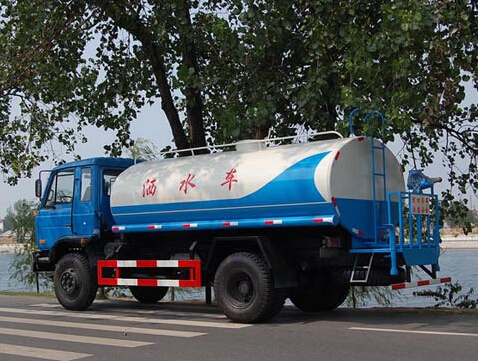 厦工楚胜东风平头11吨洒水车图片