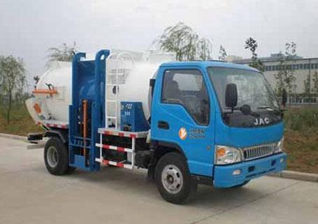 三民重工YSYA-125侧装式垃圾压缩车图片