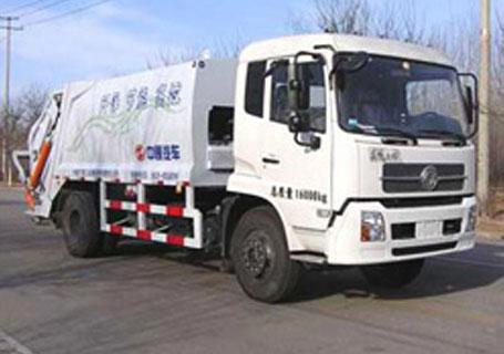 中通汽车ZTQ5160ZYSE1J38(东风天锦)压缩式垃圾车