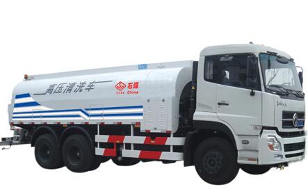 石煤机SMJ5250GQXDC3型高压清洗车
