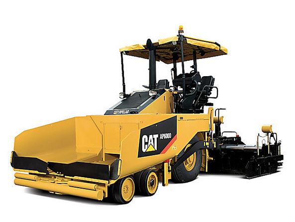 卡特彼勒AP600D轮式摊铺机