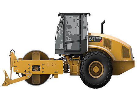 卡特彼勒CS56B单钢轮振动压路机