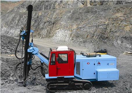 宏大HD690液压潜孔钻机
