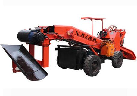 襄工LWT-80防爆节能带镏钭轮胎扒渣机图片