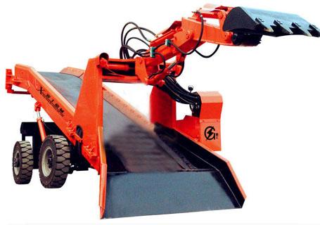 襄工LWT-120大型轮式扒渣机图片