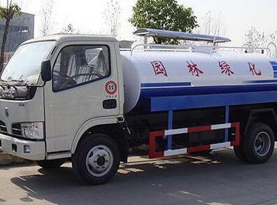 湖北合力东风福瑞卡洒水车 4吨-5吨洒水车图片