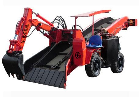 襄工LWT-A80轮式刮板扒渣机