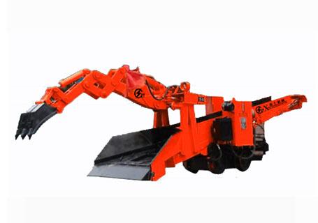 襄工LW-120轮轨式斜井专用型轨道扒渣机