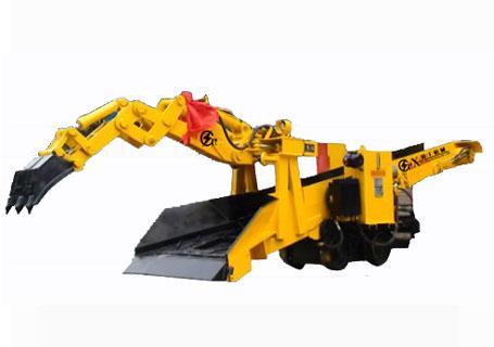 襄工LW-150轮轨式斜井专用型扒渣机图片