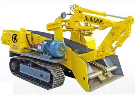 襄工LWT-100履带式斜井专用型扒渣机图片