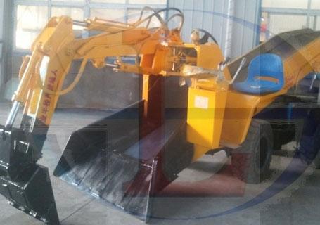 帅龙重工SWY-60/15T0折叠型扒渣机图片