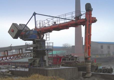海盛重工螺旋卸船机
