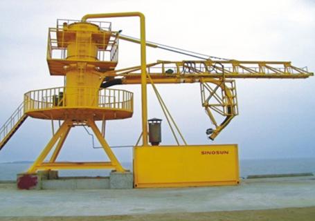 海盛重工固定式气力卸船机