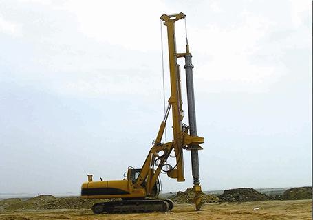 康达多功能全液压旋挖钻机图片
