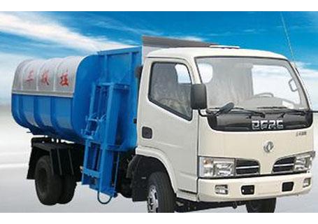 东风金霸挂桶自装卸式垃圾车