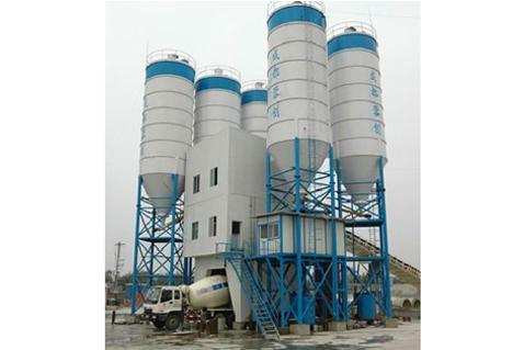 四川建机HZS120混凝土搅拌站