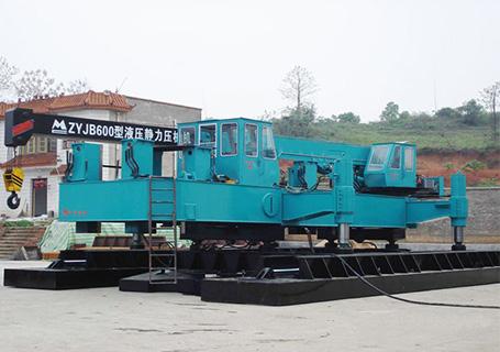 明诚ZYJB700液压静力压桩机