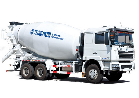 中通汽车ZTQ5250GJBS2N42(德龙)混凝土搅拌运输车