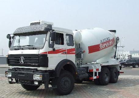 北方重工BZ5253GJBNB/BZ5253GJBNA混凝土搅拌运输车图片