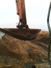 日立挖机自制的专用三角形斗
