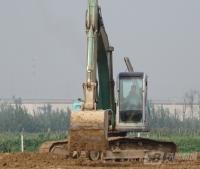 神钢挖掘机土方工程