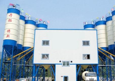 立杰机械HZS180商品混凝土搅拌站图片