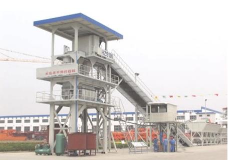 立杰机械HZS120商品混凝土搅拌站图片