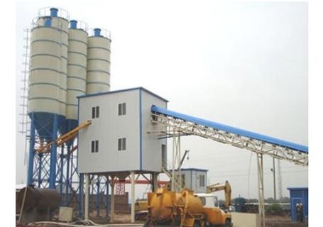 立杰机械HZS60商品混凝土搅拌站图片