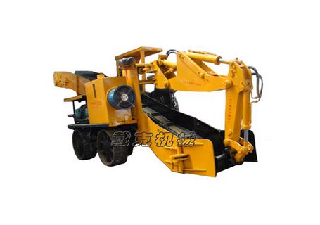 戴克机械WZ-60挖掘式装载机