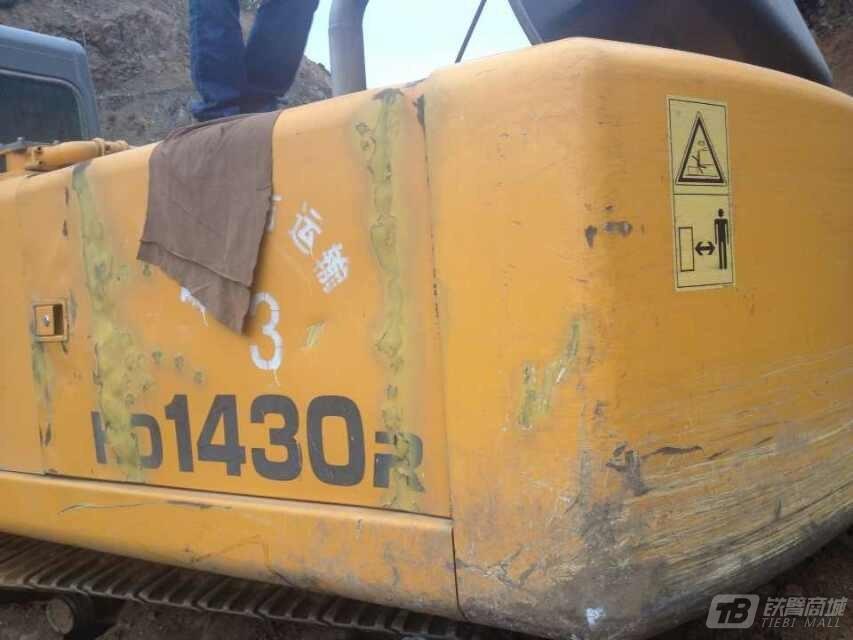 加藤HD1430R挖掘机外观图1