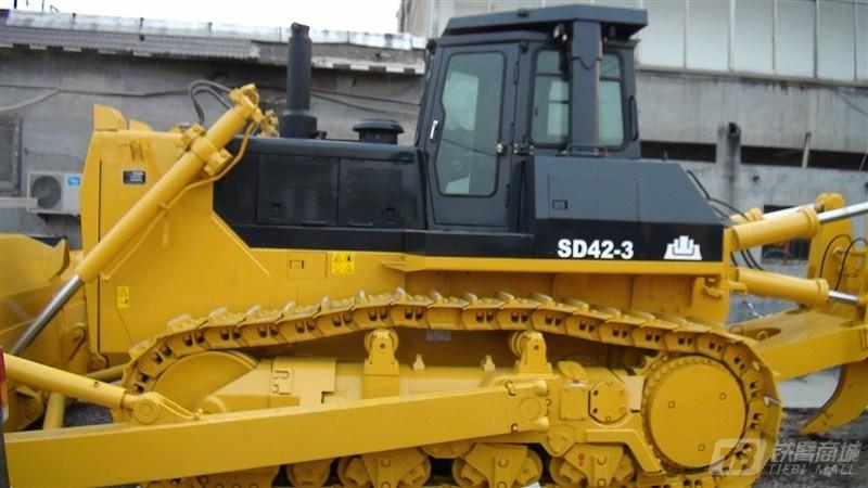 山推SD42-3标准型履带推土机外观图1