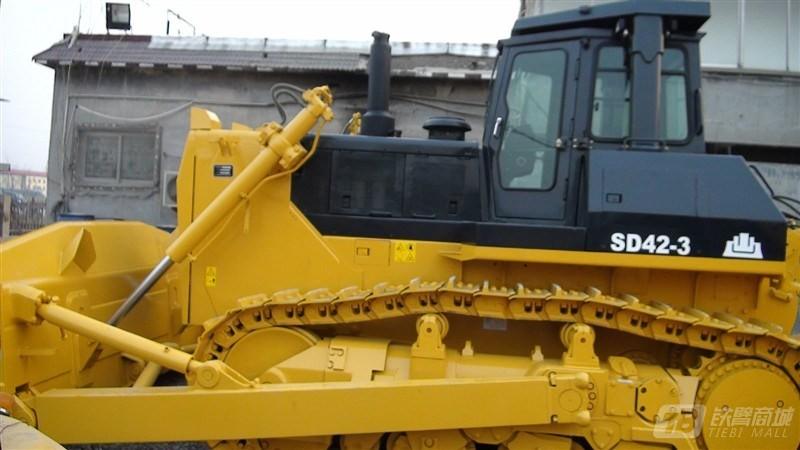 山推SD42-3标准型履带推土机外观图2