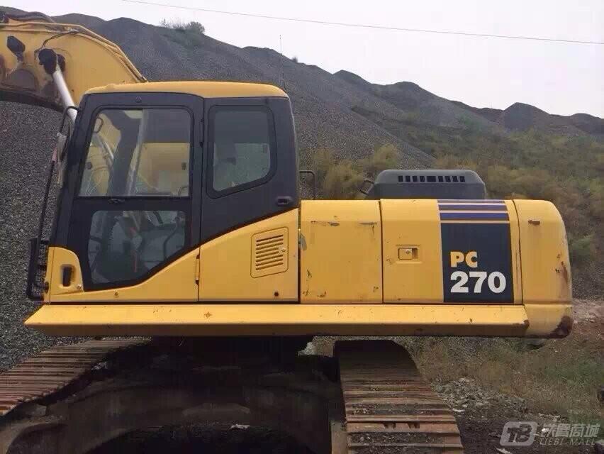 小松PC270-8液压挖掘机外观图3