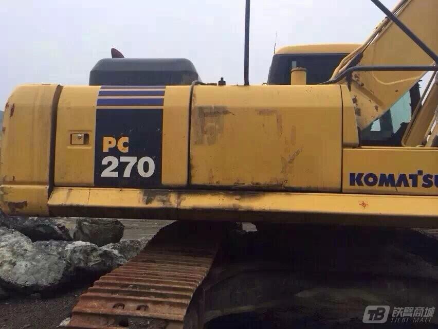小松PC270-8液压挖掘机外观图6