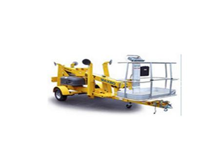 穆克 AW09006拖车式曲臂高空作业平台图片