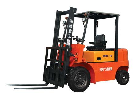 现代海麟1-1.5吨柴油内燃叉车图片