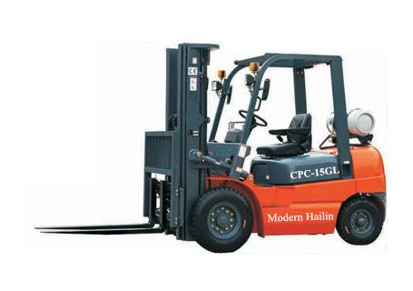 现代海麟1-1.5吨汽油 & 液化石油气叉车图片