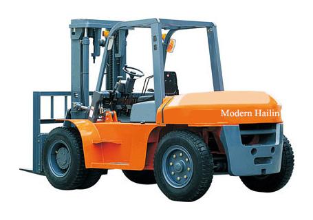 现代海麟6-10吨柴油内燃叉车图片