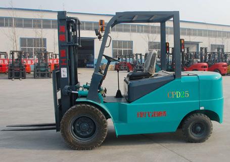 现代海麟2.5吨蓄电池叉车