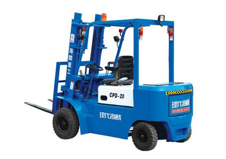 现代海麟2吨蓄电池叉车