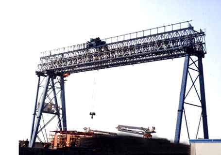 钇广重机桁行架门式起重机