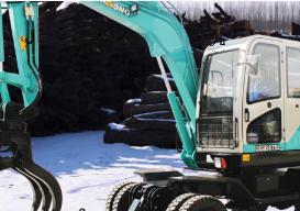 晋工JGM9075L蔗木拾装机