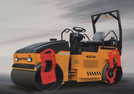 科泰重工KD03双钢轮压路机