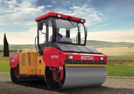 科泰重工KD126双钢轮压路机