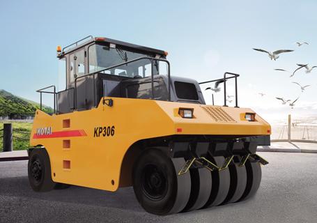 科泰重工KP306轮胎压路机