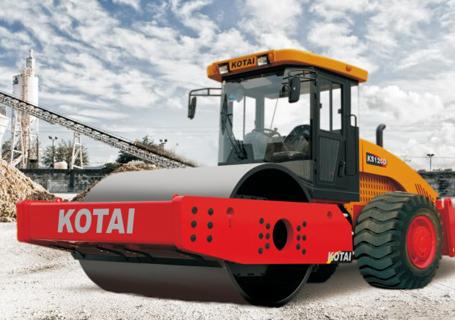 科泰重工KS125D单钢轮压路机