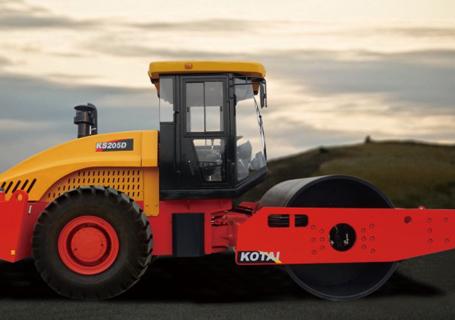 科泰重工KS205D单钢轮压路机
